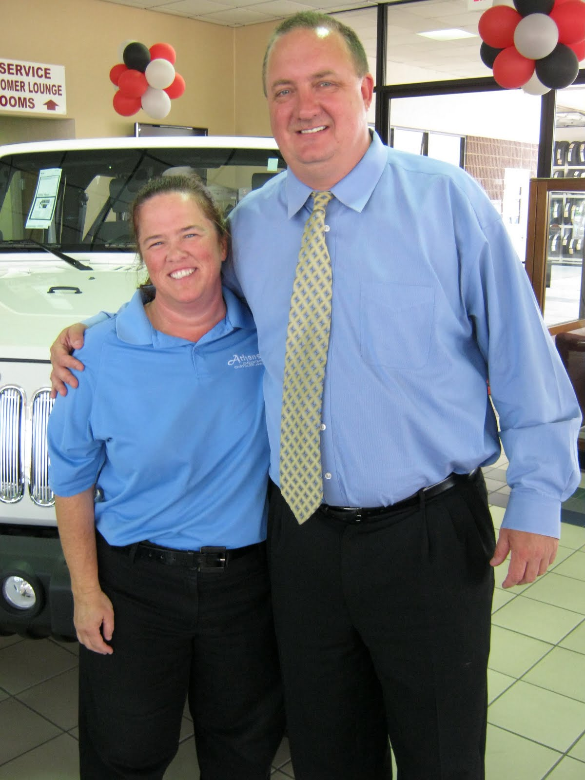 Employee Of The Month Pam Elrod Athens Dodge Chrysler